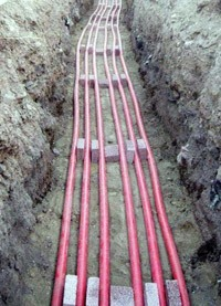 прокладка силовых кабелей. Новокуйбышевские электрики.